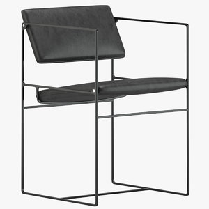 3D model klein agency lounge pivot
