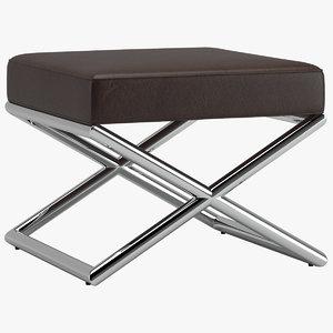 3D model milo baughman haison stools