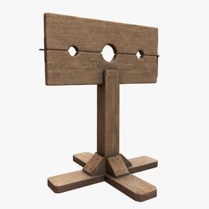 3D inquisition pillory