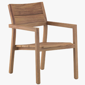 avenue road kos easy chair 3D model