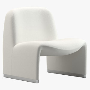 3D model castelli alky chair giancarlo