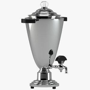 3D coffee urn