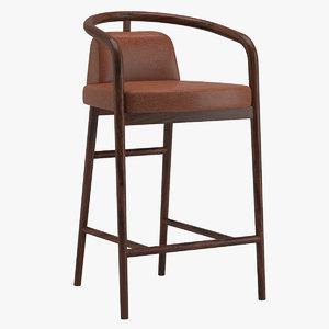 3D essex bar stool