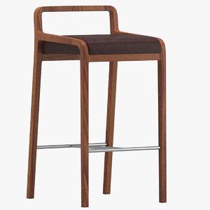 3D fuji stool model
