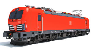 3D siemens vectron locomotive deutsche