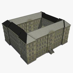 building 1 3D