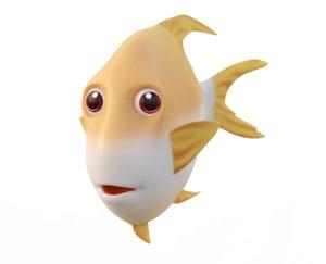 snubnose dart fish toon model
