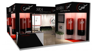 3D stand shop style booth