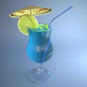 coctail juice 3D model