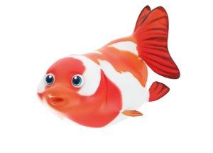 ranchu gold fish toon 3D model