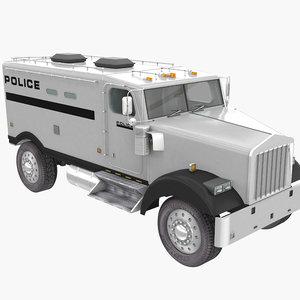 3D van police