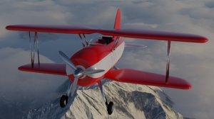 mini plane 3D model