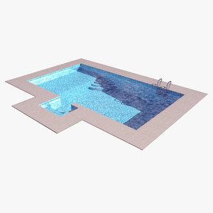 swimming pool 3D