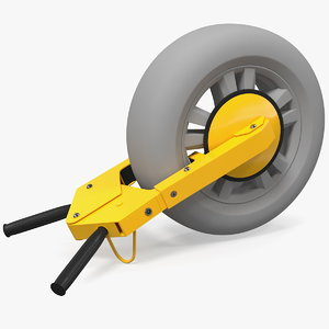 security tire claw boot 3D model