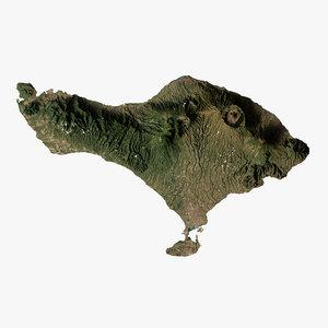 relief bali 3D model