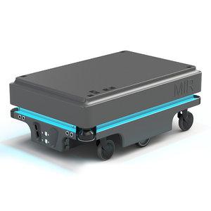 3D model mir200 warehouse robot