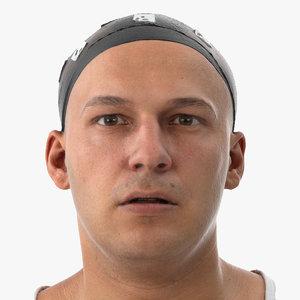 3D marcus human head jaw