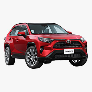 2019 toyota rav4 3D model