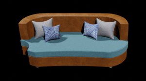 couch sofa furniture 3D