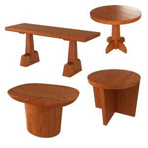 3D tables axel einar hjorth