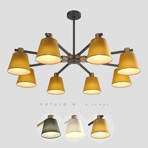 chandelier 8 natura model