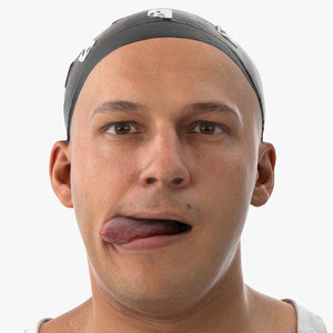 marcus human head tongue model