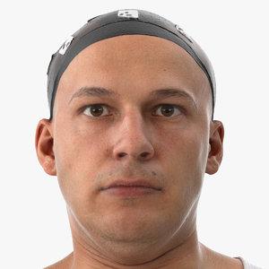 marcus human head neck 3D