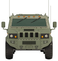Military suv with interior