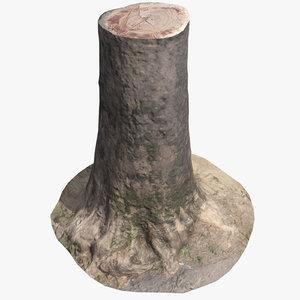 3D trunk scan 002 model