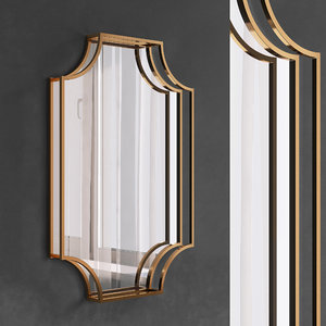 mirrors set 87 3D model