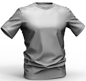 t-shirt polys 3D model