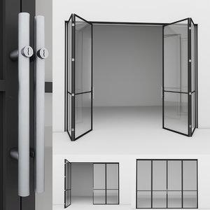 3D aluminium door 4