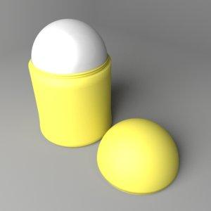 3D roll-on bottle 1 model