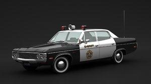amc matador sheriff 3D model