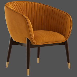dolly lounge chair 3D
