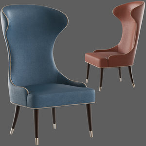 contract chair camelia lounge 3D model