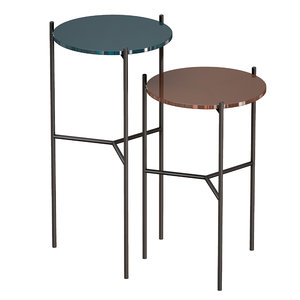 tables painted glass maylan 3D model