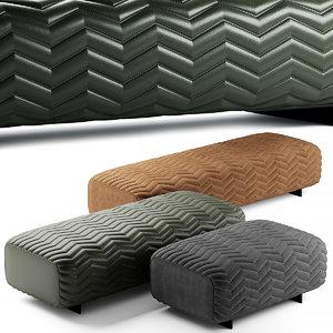 3D outdoor bed