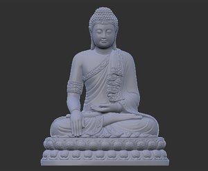 3D model thailand buddha