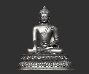 3D thailand buddha
