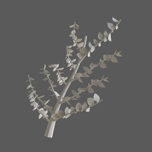 tree branch 3D model