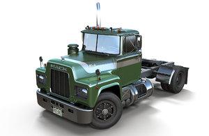 3D mack r truck