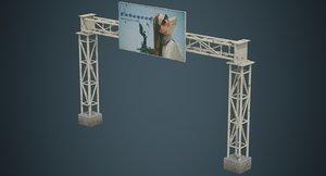 entrance advertising 1b 3D
