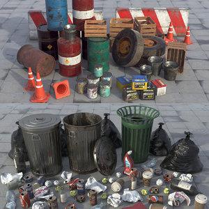 urban junk 3D model