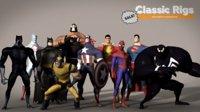 Classic Superhero Pack