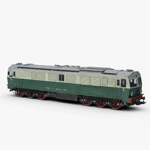3D model pkp su46 class diesel