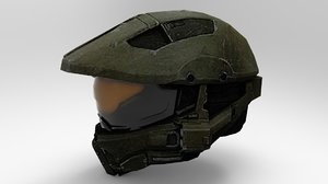 master chief helmet 3D model