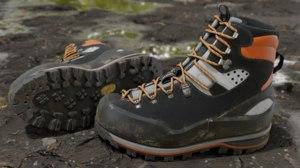 3D mountaineering boot model