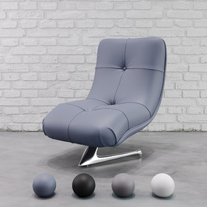 chair vladimir kagan unicorn 3D model