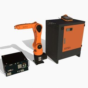 3D kuka kr-6 r900 model